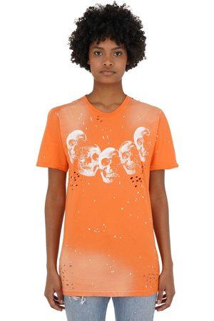 DOMREBEL | Mujer Camiseta De Algodón Jersey Estampada Xs