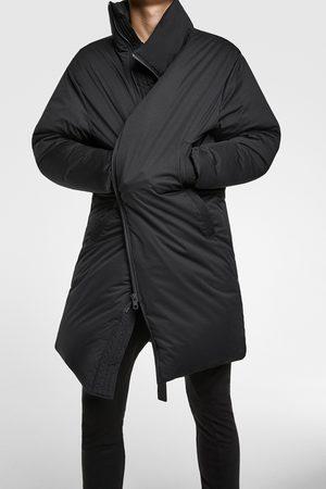 Zara Abrigo plumífero oversize
