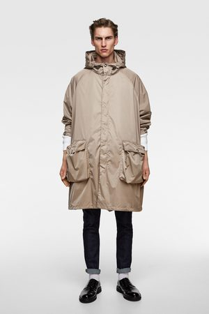 Zara Parka oversize capucha