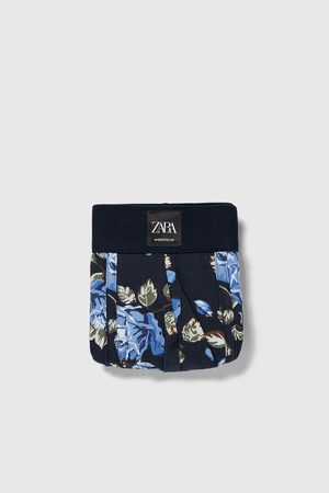 Zara Bóxer estampación floral