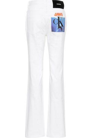 Calvin Klein Jeans rectos de tiro alto