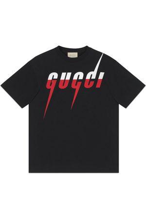 Gucci Camiseta con Estampado Blade