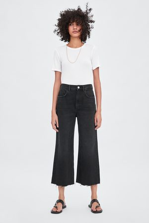 Pantalones Anchos De Mujer Zara Moda Fashiola Es