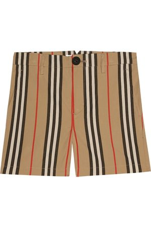 Burberry Shorts Icon Stripe de algodón