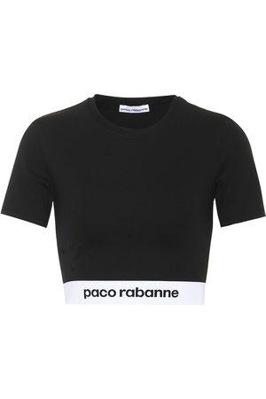 Paco rabanne Tops - Top de punto fino cropped