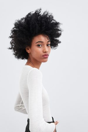 Zara Camiseta manga larga