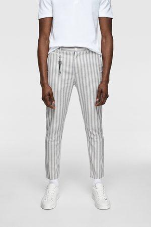 pantalones rayas hombre zara