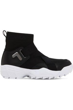 "FILA URBAN | Mujer Sneakers ""mfw01 Wmn"" De Nylon Con Logo 8.5"