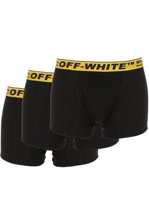 OFF-WHITE | Hombre Paquete De 3 Calzones De Algodón Xs