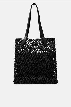 Zara Shopper tejido nudos