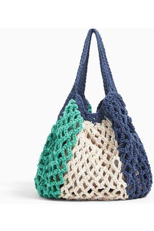 Zara Bebé Bolsos - Shopper algodón crochet