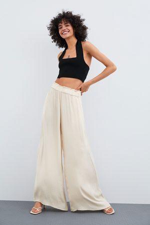 Pantalones Y Leggings De Mujer Zara Pantalones Anchos Verano Fashiola Es