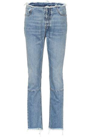 UNRAVEL Jeans ajustados de tiro alto