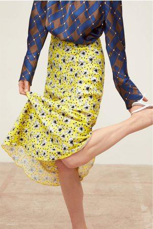 Zara Falda larga estampado floral