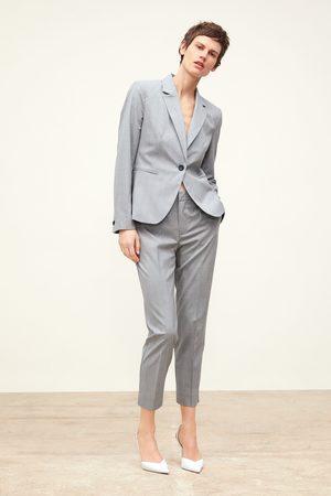 Pantalones Y Leggings De Mujer Zara Cuadros Fashiola Es