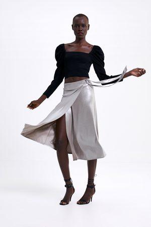 c0e152fa1e Faldas de mujer Zara online. ¡Compara 999 productos y compra!