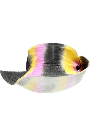 Ganni Sombrero de jeans con print tie-dye