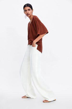 b7dcd32de Tiendas Camisas de mujer color marrón ¡Compara 339 productos y ...