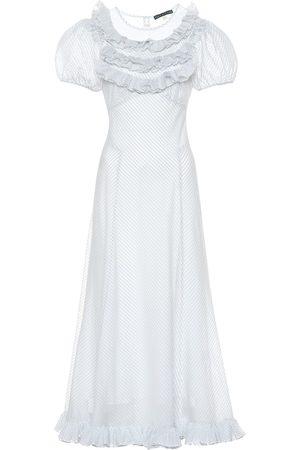 AlexaChung Vestido en mezcla de algodón