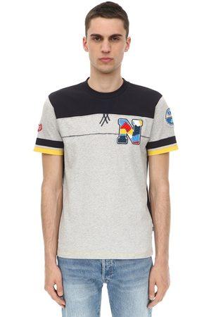Napapijri | Hombre Camiseta De Jersey De Algodón Con Logo S