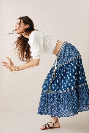 Zara Falda estampada cinturón