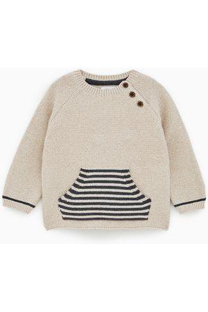 Zara Jersey links bolsillo rayas