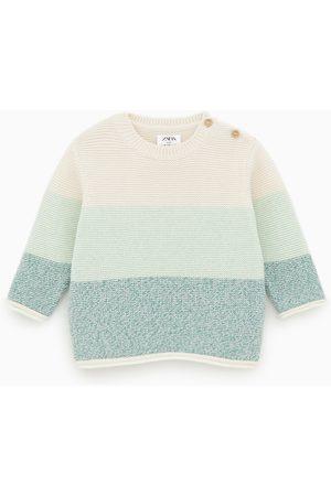 Zara Jersey links color block