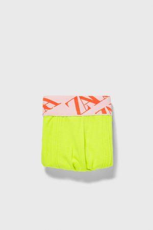 Zara Boxer cintura jacquard
