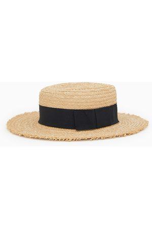 Zara Niña Sombreros - Sombrero rafia