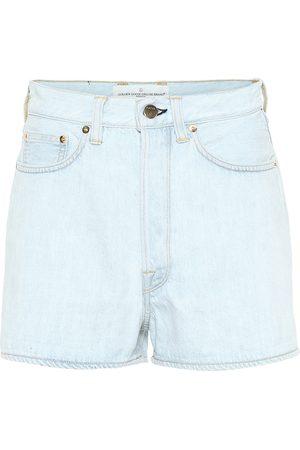Golden Goose Shorts Judy de jeans de tiro alto