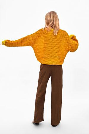Zara Sudadera combinada tricot