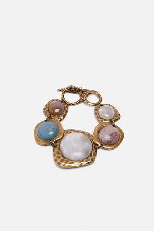 Zara Pulsera combinada piedras edición limitada