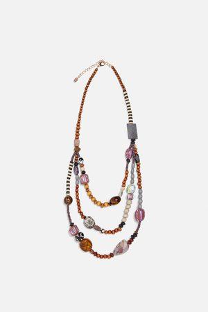 4f12fd341993 Collares de mujer Zara online. ¡Compara 27 productos y compra!