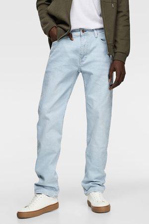 Zara Jeans básico slim straight