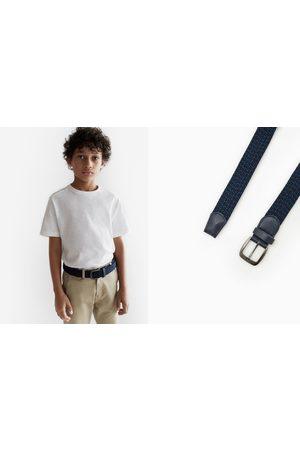 Zara Cinturón elástico trenzado