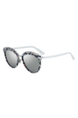 Dior OFFSET2 W6Q (0T) White/Grey Mirror