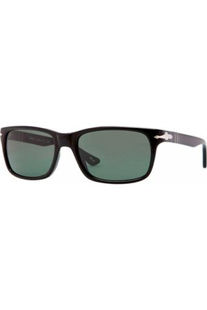 Persol PO3048S 95/31 Black CRYSTAL Green