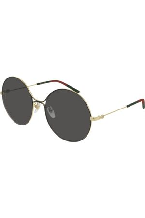 Gucci GG0395S 001 Shiny Endura Gold/Shiny Black