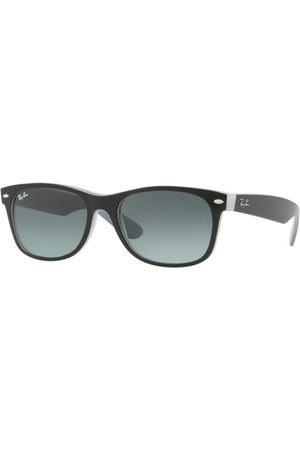 Ray-Ban RB2132 NEW Wayfarer 630971 Matte Black ON Opal ICE