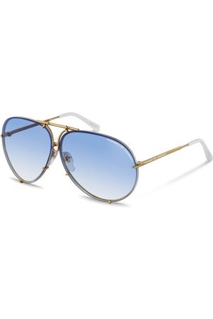 Porsche Design P8478 (2 SET OF Lenses) W Yellow GOLD, WHITE, Blue Gradient