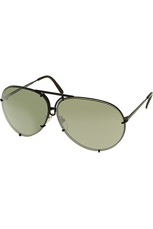 Porsche Design P8478 (2 SET OF Lenses) D Olive Silver Mirror