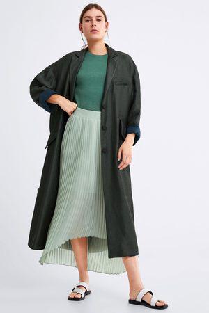 Zara Falda plisada