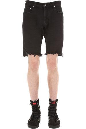 Represent | Hombre Pantalones Cortos De Denim De Algodón 28