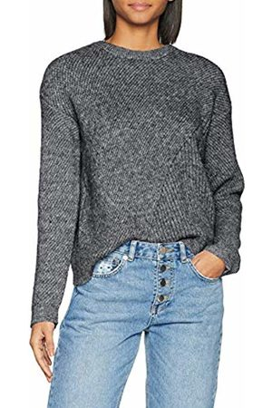 Pieces Pcfania LS Knit, suéter Mujer