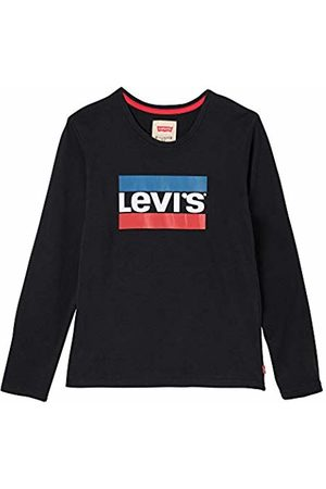 Levi's Nn10417 02 Long Sleeve tee-Shirt, Camiseta de Manga Larga Niños