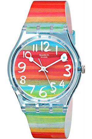 06b4aa8ceeb9 Swatch Reloj Analógico de Cuarzo para Mujer con Correa de Plástico – GS 124