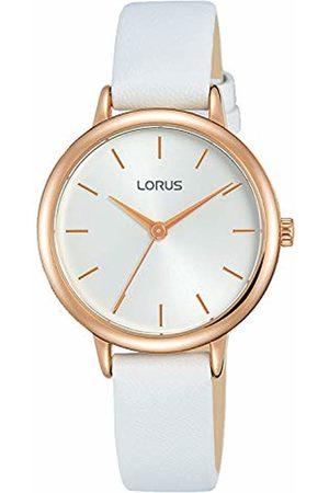 Lorus Reloj Analógico para Mujer de Cuarzo con Correa en Cuero RG246NX8