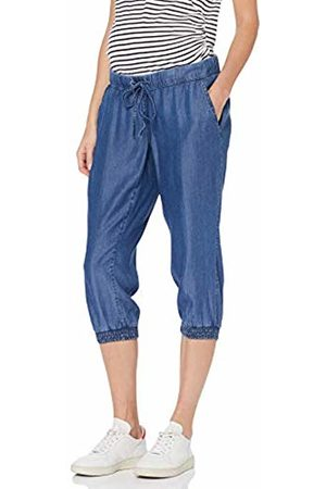 Mama Licious Mllydia Loose Knickers A, Pantalon Corto Premama para Mujer, Light Blue Denim