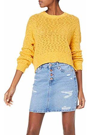 New Look Slub V Neck suéter 44 (Talla del Fabricante: 53) para Mujer