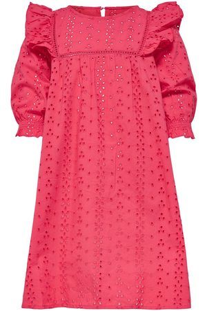 Only Kids Frill Short Dress Women Pink